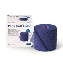 Peha-Haft color albastru bandaj autoadeziv fara latex Hartmann