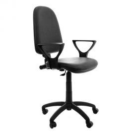 Scaun birou ergonomic cu brate negru