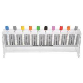 Stativ Vacuntainer VSH gradatii pentru 10 eprubete